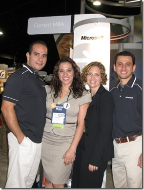 2008 NSHMBA Conference Richard at Microsoft Booth
