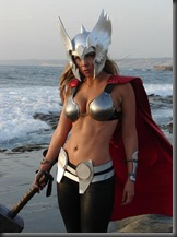 Thor - Lady Thor Cosplay Toni Darling